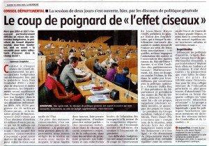 CONSEIL DEPARTEMENTAL 23 06 2015