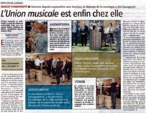 10 LES ANCIZES   UNION MUSICALE DES COMBRAILLES 22 06 2015