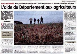 30 CONSEIL DEPARTEMENTAL  AIDE AUX AGRICULTEURS 31 07 2015