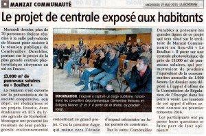 5 MANZAT PROJET DE CENTRALE 27 05 2015